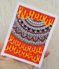 Dibujos Zentangle Art, Mandalas