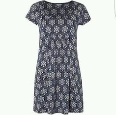 Designer Clothes, Shoes & Bags for Women Navy Tunic, White Tunic, Cap Sleeve Top, Cap Sleeves, Kaftan Tops, Tunic Tops, White Stuff, Short Sleeve Dresses, Budapest
