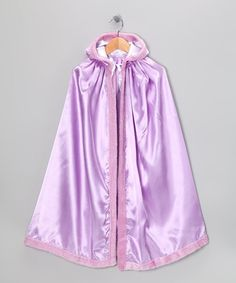 Take a look at this Lavender Satin Cape by Frilly Goose on #zulily today!