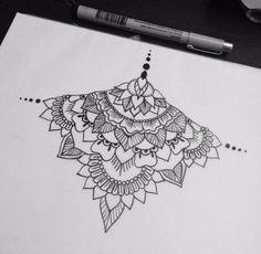 Doodle Art Drawing, Mandala Drawing, Mandala Tattoo, Zentangle Patterns, Mandala Pattern, Tattoo Patterns, Skull Coloring Pages, Cute Tiny Tattoos, Body Art Tattoos