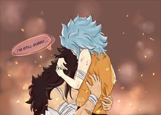 fairy tail, gajevy, and gale image