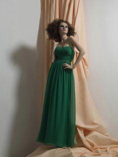 Liz Fields Bridesmaid Dresses - Style 509 #emerald #wedding
