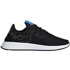 04760adb3 Shop adidas Deerupt Black Blue Bird online – West Brothers Adidas Sneakers