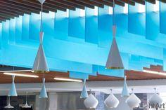 LightArt | Chroma Fins Ceiling Application | LightArt