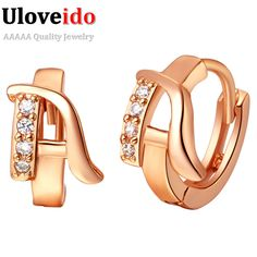 Find More Stud Earrings Information about N~Z English Words Cubic Zirconia CZ Diamond Jewelry Stud Earrings for Women Fashion Jewelry Rose Gold Earring 2016 Vintage R584,High Quality earring bride,China earrings fairy Suppliers, Cheap earrings brass from D&C Fashion Jewelry Buy to Get a Free Gift on Aliexpress.com