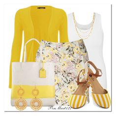 """""""Optimism"""" by penny-martin ❤ liked on Polyvore featuring maurices, WearAll, Croft & Barrow, Reed and Jennifer Zeuner"""