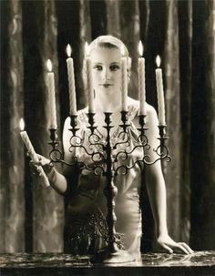 "Carole Lombard, artistic photo still, ""Possessed."""