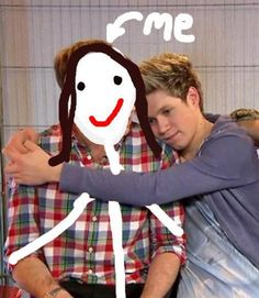 Look at us! I'm not very photogenic, obviously. But at least I'm skinny as heck! ;) Don't we make a cute couple???? <3 haha