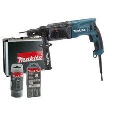 Makita HR2470FTX Bohrhammer Set Alukoffer + SDS Bohrer