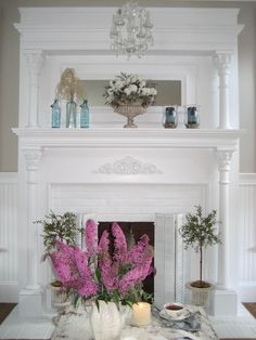 Shabby Chic Mantle
