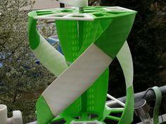Savonius Darrieus Turbine by astfaellergerald - Thingiverse