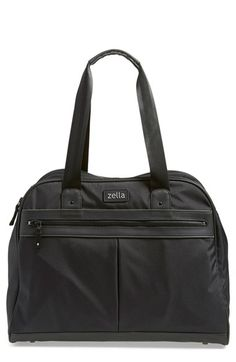 Check the reviews on this gym bag. I can confirm that it lives up to the hype! Zella Duffel Bag available at #Nordstrom