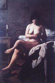 El despertar de la criada – Ernesto de la Carcova.