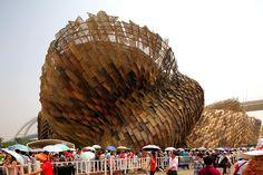Spanish Pavilion at the 2010 Shanghai Worlds Fair