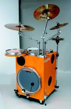 Fancy - GigPig portable drum kit. This is friggin awesome!