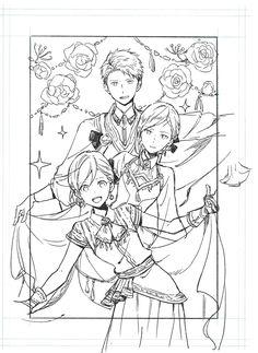 Craft Tutorial and Ideas Manga Anime, Old Anime, Anime Art, Anime Meme, Zen Wisteria, Character Art, Character Design, Akagami No Shirayukihime, Snow White With The Red Hair