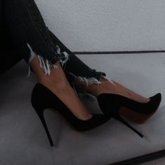 Stiletto Heels, High Heels, Shoes Heels, Pumps, Edgy Outfits, Casual Fall Outfits, Aesthetic Women, Aesthetic Dark, Fancy Shoes