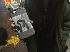 - 폰케이스 김두하 작가의 보통소녀 콜라보   - Custum Phone case