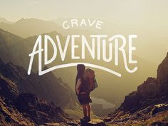 Dribbble - 15/365 - Crave Adventure by Logo Juice