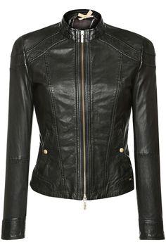 90eba2c9f HUGO BOSS ORANGE 'Janassila2' Leather Jacket Boss Leather Jacket, Leather  Men, Hugo