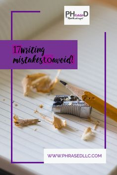 Struggle with writing? Here are tips on the 17 most common writing mistakes to avoid with video lessons on how to fix them. #writingmistakes #commonwritingmistakes #commonwritingmistakestoavoid Creating A Portfolio, Creating A Blog, Run On Sentences, Work On Yourself, Finding Yourself, Nouns And Verbs, Professional Writing, Blog Topics, Child Life