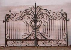 Stunning Wrought Iron Gate ( Wrought Iron Gate)