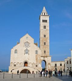 Cathédrale de Saint Nicolas le Pèlerin - Duomo di San Nicola Pellegrino - Trani, Apulia, Italy