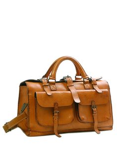 Sandast - Burbon Leather Bag (Natural)   VAULT