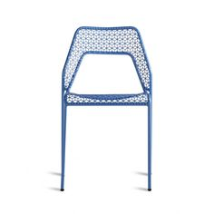 Hot Mesh Blue Cafe Chair, also comes in counter stool size.