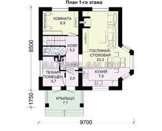 План 1 (прямой) Traditional House, House Plans, Floor Plans, How To Plan, Ideas, Modern, Closer, Home, Trendy Tree
