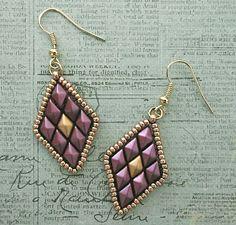 Free Beading Pattern - Toni Earrings