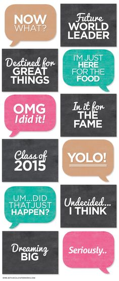 Graduation Party Ideas and Printables 21