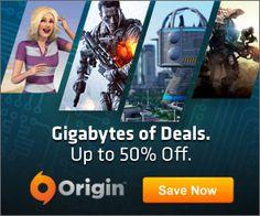 Gigabytes of Deals sale in Origin!