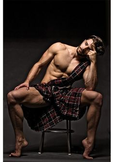 I don't know but something about a good looking man in a kilt is very hot
