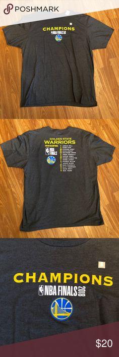 04560b89e [NBA] Golden State Warriors Shirt NWT Golden State Warriors Shirt  Championship with names listed