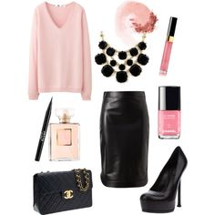 Pink and Black lbv