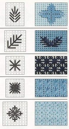 Learn The Basic Plastic Canvas Stitches - Diy Crafts - Marecipe Hardanger Embroidery, Cross Stitch Embroidery, Embroidery Patterns, Hand Embroidery, Stitch Patterns, Broderie Bargello, Bargello Needlepoint, Needlepoint Stitches, Plastic Canvas Stitches