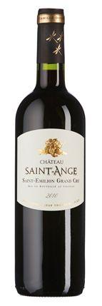 Château Saint-Ange 2010: Duftbild aus Cassis, Kirschen, diskreter Holzwürze und Nougat, saftiger und konzentrierter Fruchtgeschmack.