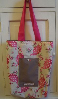 Tote Bag Countrychic by AudreyAccessories on Etsy, €25.00