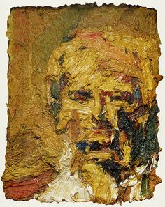 Hard-won images: Frank Auerbach and Alberto Giacometti Frank Auerbach, Alberto Giacometti, Figure Painting, Painting & Drawing, Painting Prints, Royal Academy Of Arts, Abstract Portrait, Tachisme, Texture Art