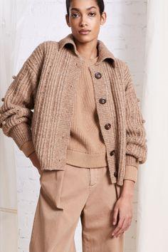 #apieceapart #fall2021 #sweater #cardigan  Sweater Cardigan, Women Wear, Knitting, Fall, Sweaters, How To Wear, Sweater, Autumn, Knit Cardigan