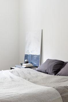 fantastic frank - linen bedding and minimal bedroom