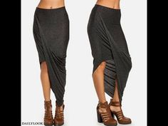 HOW TO MAKE A TRENDY MAXI SKIRT