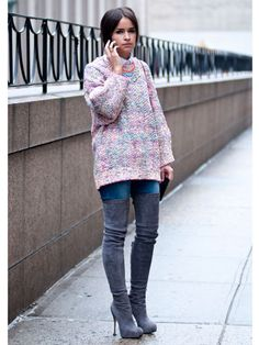 Street Style at Fall 2013 Fashion Week - NYFW Street Style Pictures