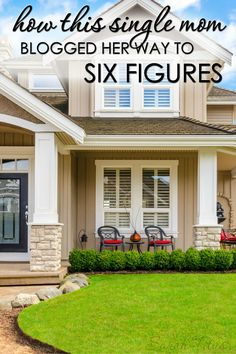 Wow, this post is not only inspirational, but gives a lot of great tips on blogging! How this single mom blogged her way to six figures is incredible!!