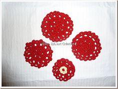 Fleurs au crochet  [Crochet flowers]