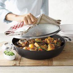 Scanpan® Pro IQ Nonstick Chefu0027s Pan, 4 Qt. | Sur La Table