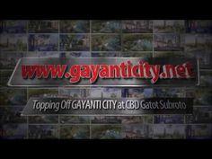 Topping Off Apartemen Gayanti Residence di Gayanti City - CBD Gatot Subroto