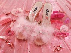 "nymphetfashion:  "" Pink Heels  """