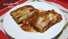 Le zucchine taleggio e pomodoro sono uno gustoso contorno o leggero secondo piatto completamente preparato con il forno a microonde, leggero e sostanzioso